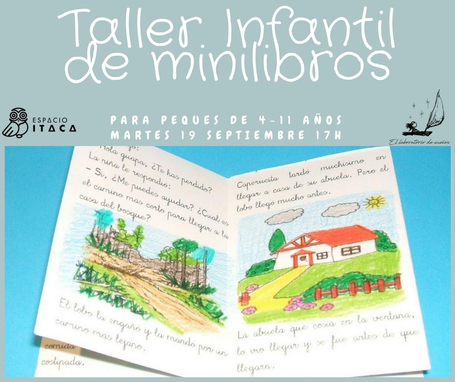 Taller Infantil: escribiendo mi primer Minilibro!