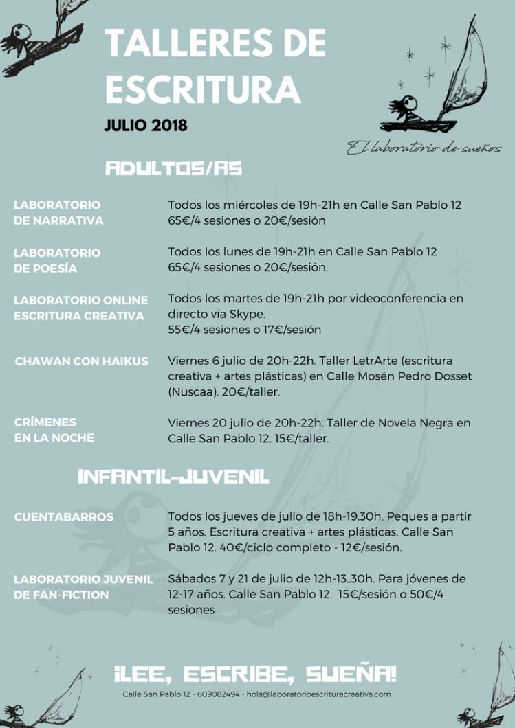 Programa Julio 2018