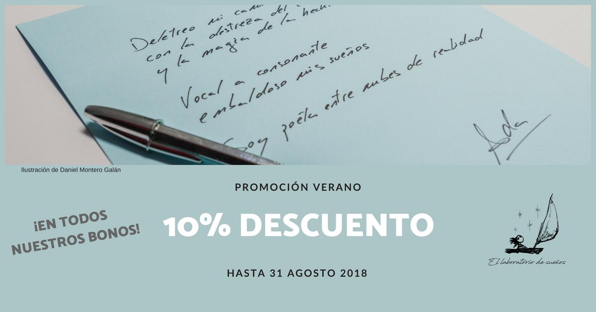 ¡Promoción verano 2018! 10% descuento en todos nuestros bonos