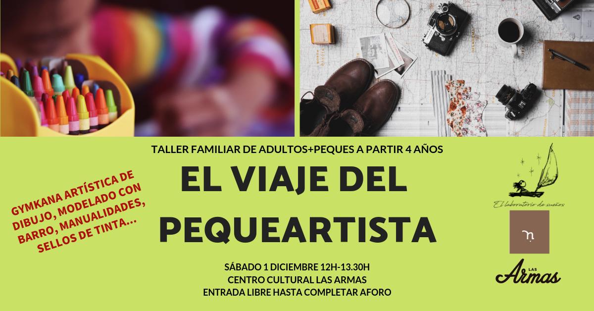 Taller Gratuito Familiar de Cuentos & Artes Plásticas: El viaje del pequeartista