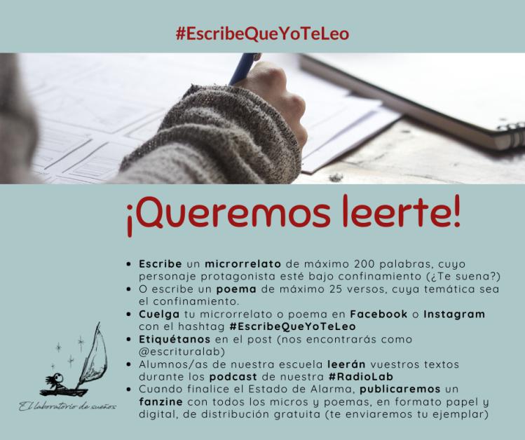 #escribequeyoteleo